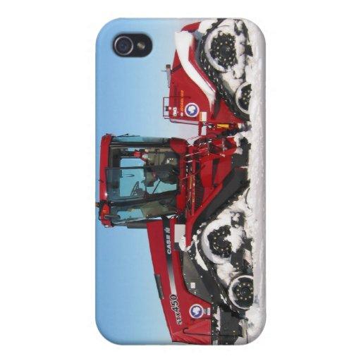Atravesar el tractor ártico iPhone 4 carcasa