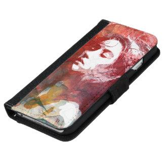 Atrévase a amar la caja de la cartera del iPhone 6 Funda Cartera Para iPhone 6