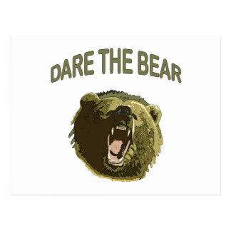 Atrévase el oso postales