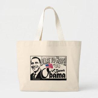 ¡Atrevimiento a la esperanza! Bolso de Obama Bolsas
