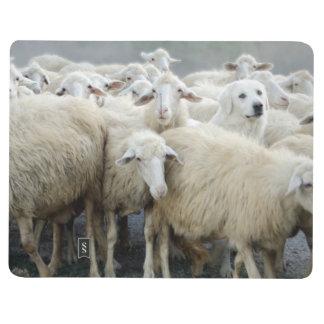 ¡Atrevimiento a ser diferente! Perro pastor que di Cuadernos