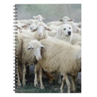 ¡Atrevimiento a ser diferente! Perro pastor que di Libros De Apuntes