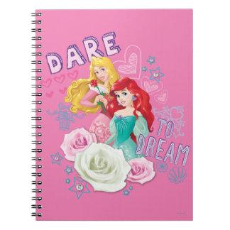 Atrevimiento al sueño cuaderno