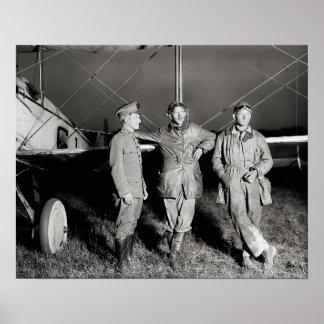 Atrevimiento de Aviators, 1919 Póster