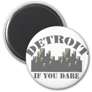 Atrevimiento de Detroit Imán Redondo 5 Cm