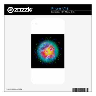 Atrio 5 calcomanía para iPhone 4S