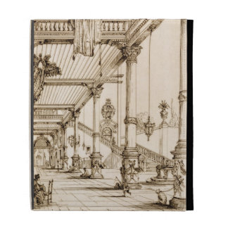 Atrium of a Palace, in Genes, from 'Art and Indust iPad Folio Cases