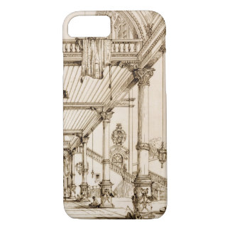 Atrium of a Palace, in Genes, from 'Art and Indust iPhone 7 Case
