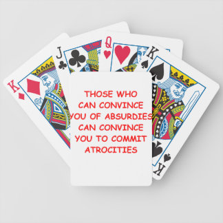 atrocidades baraja cartas de poker