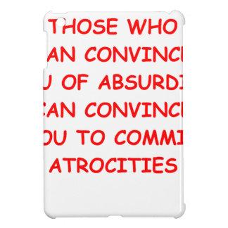 atrocities iPad mini cover
