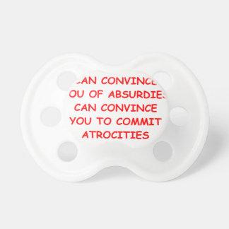 atrocities pacifier