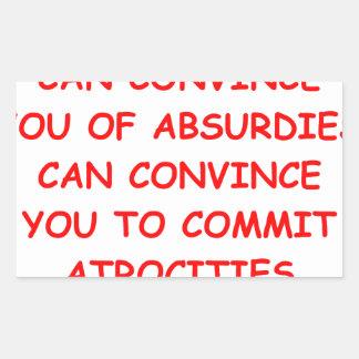 atrocities stickers