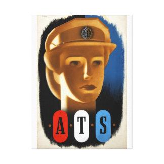 ATS del reclutamiento (poster del Impresión En Lienzo