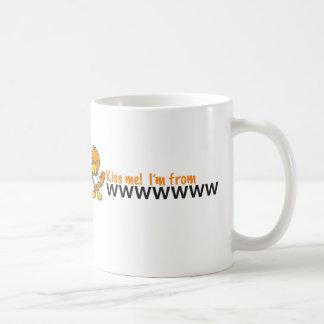 att kiss me mug