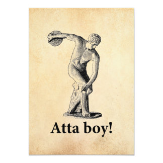 Atta Boy! Card