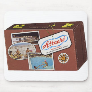 Attache Motel Brochure Cover 1960's Mouse Pads