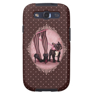 Attached to my French Bulldog Samsung Galaxy S3 Cover