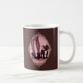 Attached to my French Bulldog Classic White Coffee Mug