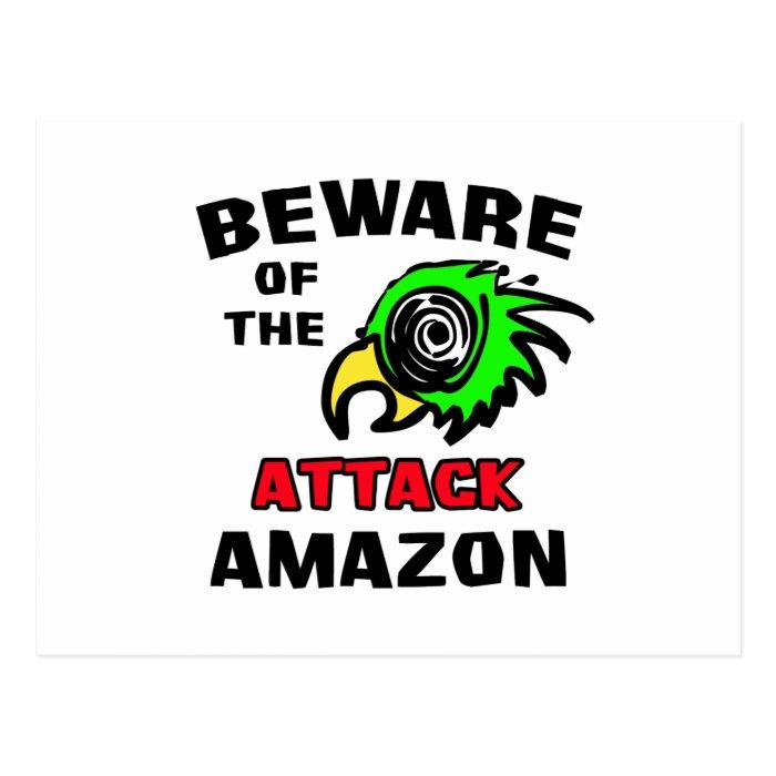 Attack Amazon Postcard