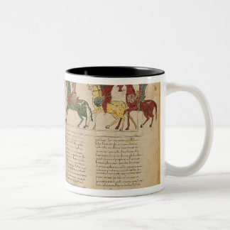 Attack and Taking of Jerusalem by Two-Tone Coffee Mug