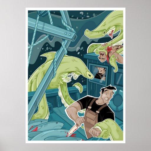 Attack At Sea Poster