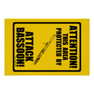 Attack Bassoon Print