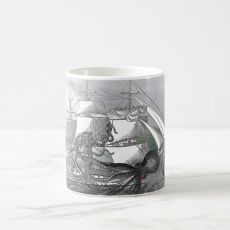 Attack by Giant Octopus Classic White Coffee Mug