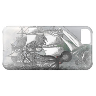 Attack by Giant Octopus Cover For iPhone 5C