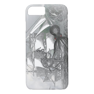 Attack by Giant Octopus iPhone 8/7 Case