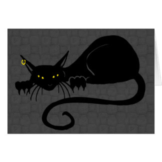 Attack Cat Solo Blank Card
