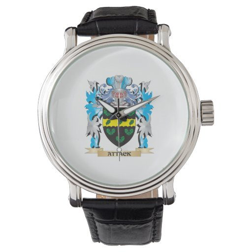 Attack Coat Of Arms Wrist Watch