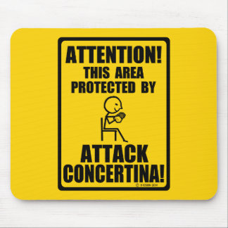 Attack Concertina Mouse Pad