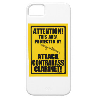 Attack Contrabass Clarinet iPhone SE/5/5s Case