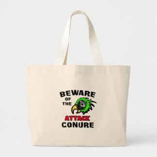 Attack Conure Jumbo Tote Bag
