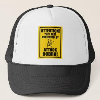Attack Dobro Trucker Hat