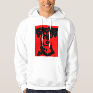 Attack dog hoodie