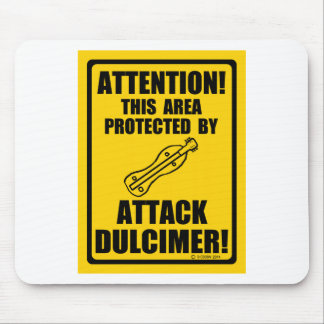 Attack Dulcimer Mouse Pad