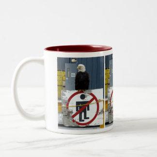 Attack Eagle on Duty Two-Tone Coffee Mug