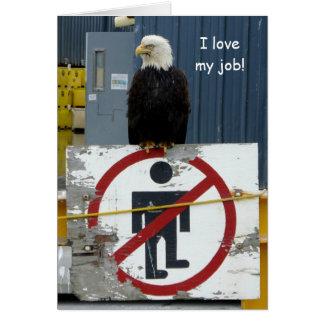 Attack Eagle on Guard Card