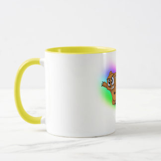 Attack Grizzly Ninja - Rainbow Blur! Mug