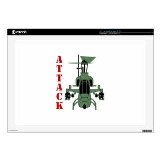 Attack Helicopter Laptop Skin