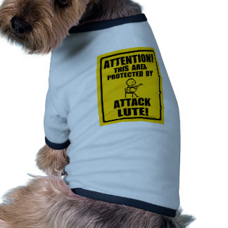 Attack Lute Doggie Tee