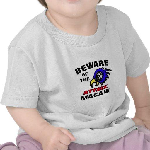 Attack Macaw Tee Shirt