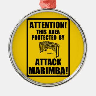 Attack Marimba Christmas Ornaments
