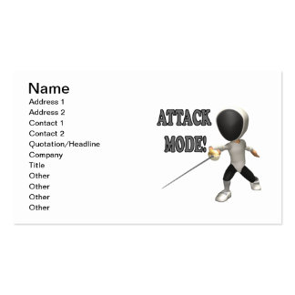 Attack Mode Business Card