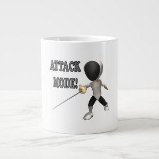 Attack Mode Giant Coffee Mug