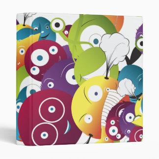 attack of monster balls notebook binder