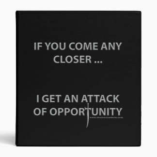 Attack of Opportunity Binder