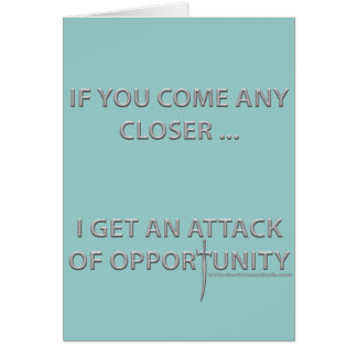 Attack of Opportunity Card