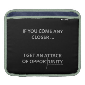 Attack of Opportunity iPad Sleeve